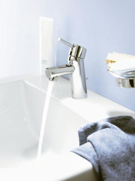 Mitigeur lavabo CONCETTO C3, avec vidage