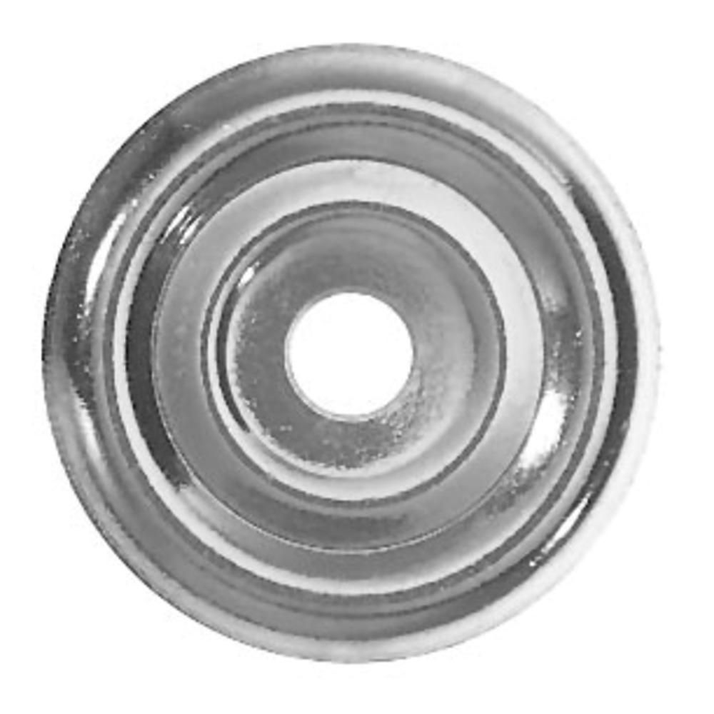 Rosace Plate D30 mm - 100 pièces, réf. 533522