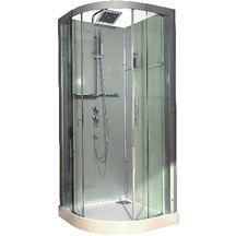 cabines de douche 1 1 4 de rond cabines de douche douche sanitaire cedeo. Black Bedroom Furniture Sets. Home Design Ideas