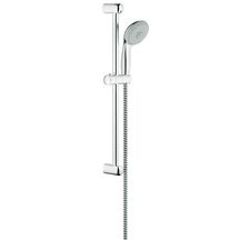Ensemble de douche TEMPESTA IV, 4 jets (rain, rainO2, massage, jet), chromé Réf 27795000