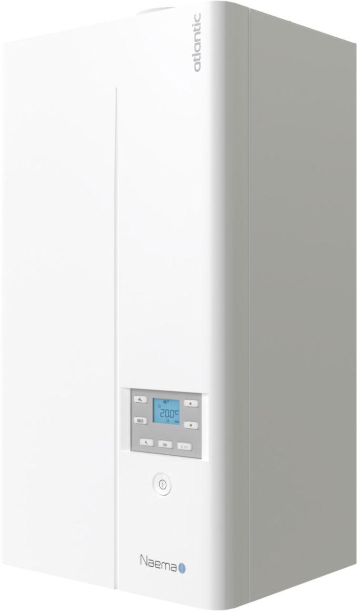 Chaudière murale gaz condensation ECS Naema 2 micro 25kW classe énergétique A/A Réf 021242