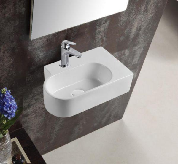 Lave-mains asymétrique angle droit PLENITUDE