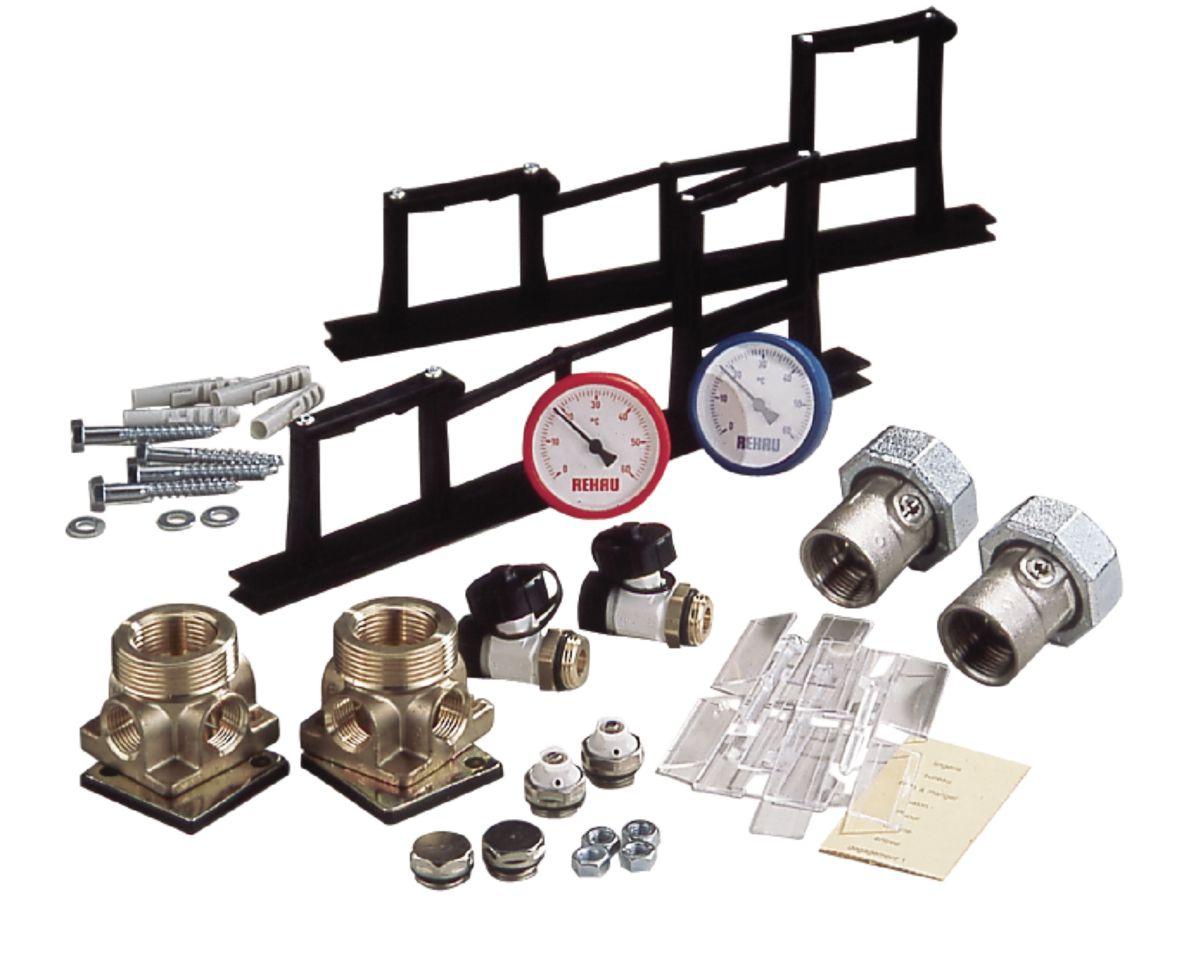 Set de montage pour collecteur (comprend tous les accessoires nécessaires au montage d'un collecteur sauf barres d'assemblage) réf. 12456431