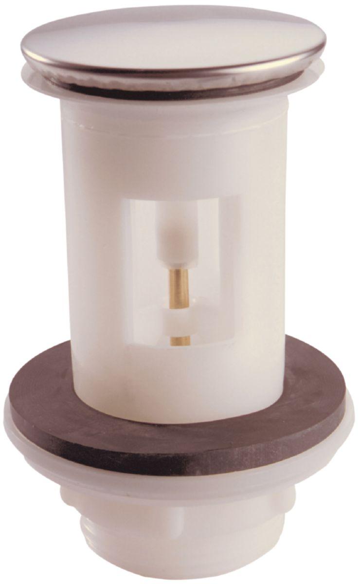 Bonde De Lavabo Porcher.Bonde De Vidange Avec Clapet Inox Recouvrant Haut 93mm Pour Les Anciennes Ceramiques D710992nu