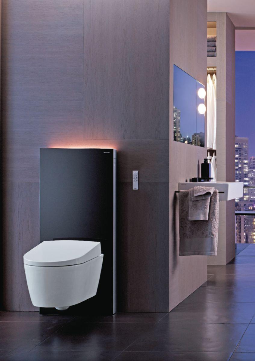 Largeur Wc Suspendu Geberit panneau sanitaire geberit monolith pour wc suspendu 101cm