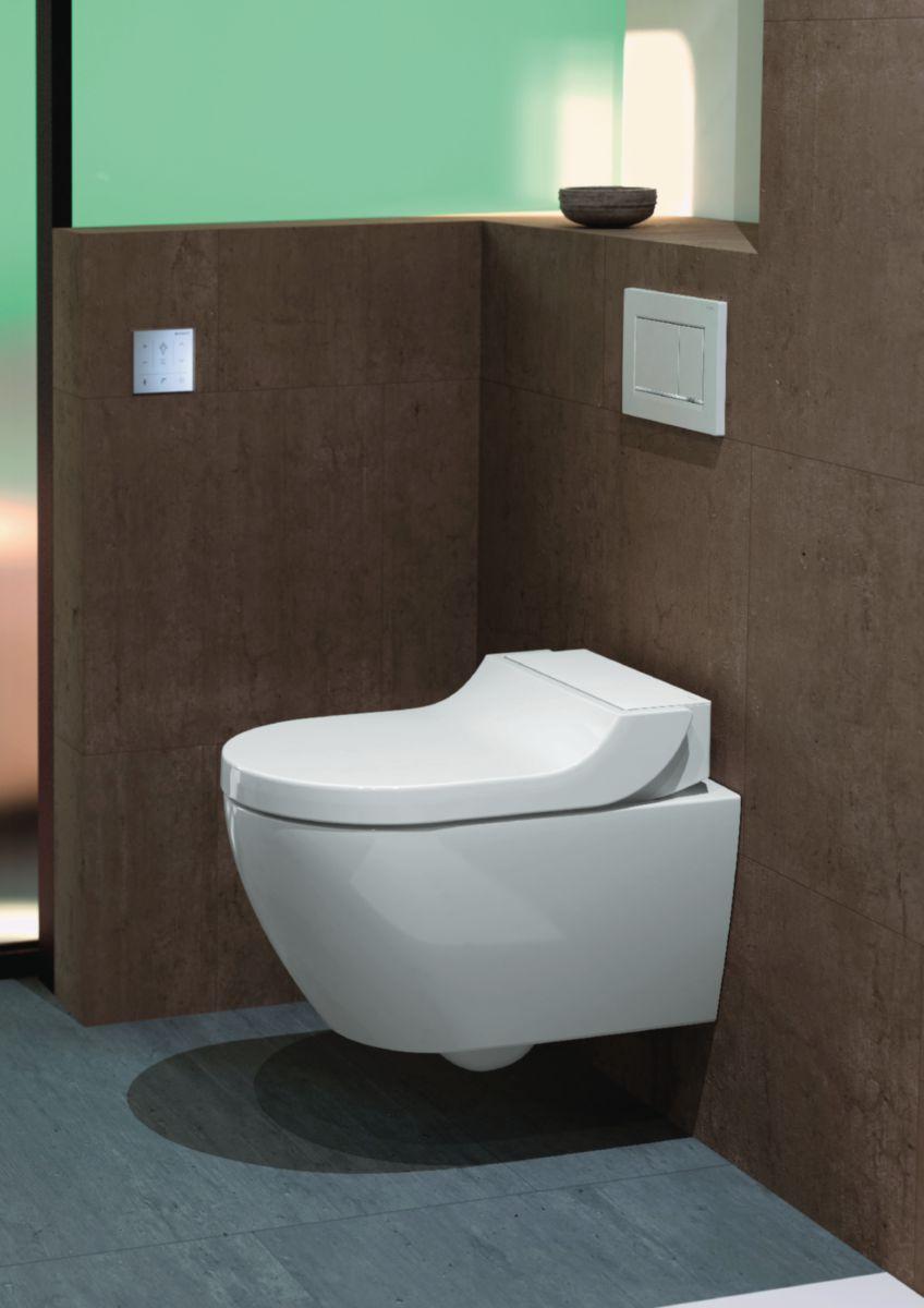 WC lavant AQUACLEAN TUMA suspendu sans bride