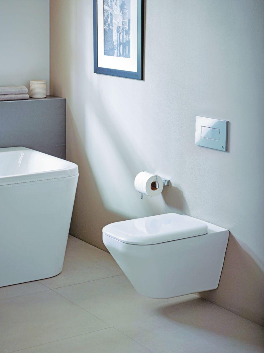 WC suspendu TONIC II caréné, technologie Aquablade ®