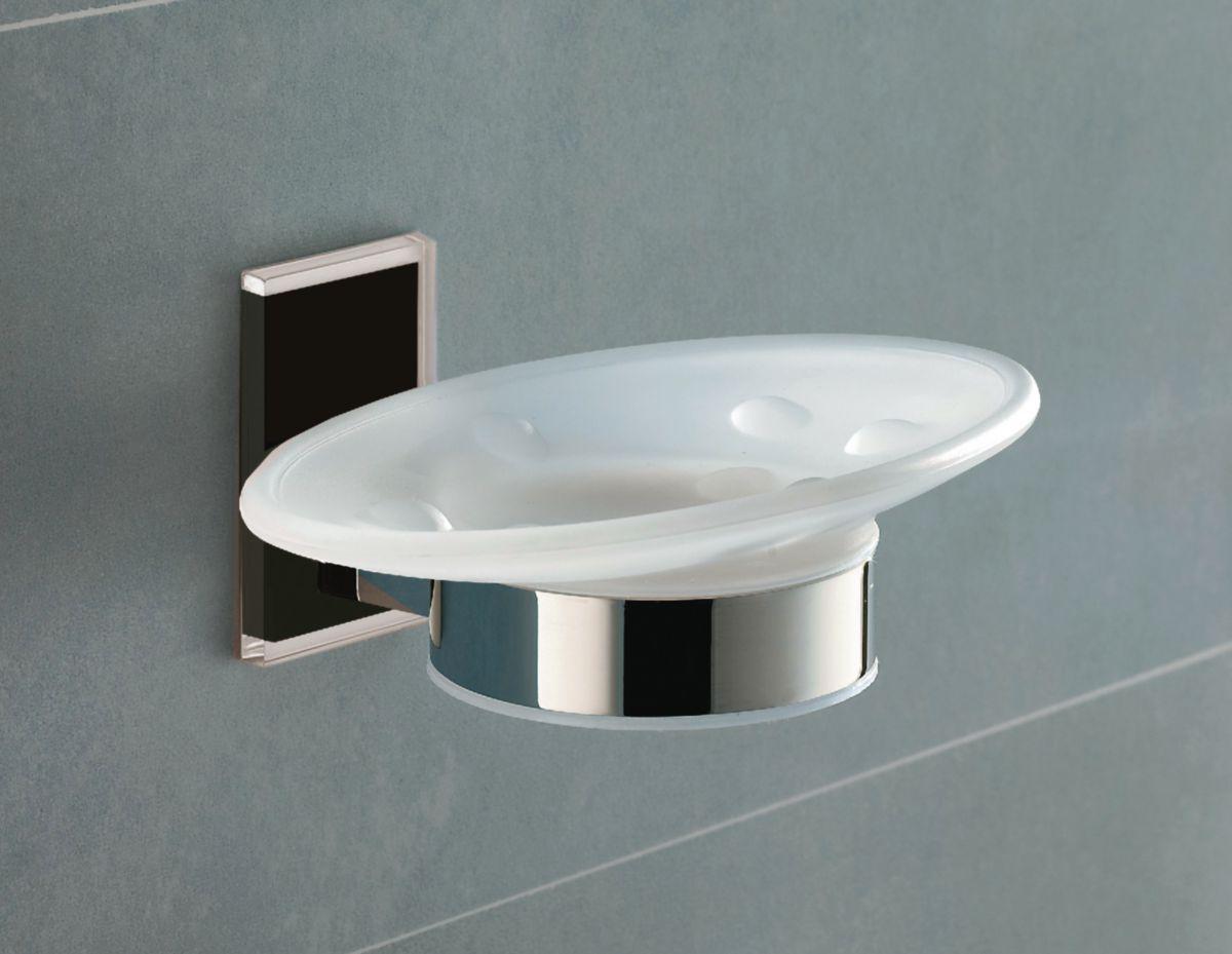Porte savon maine a coller chrome réf. 78111300100