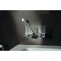 Porte-brosse à dents MOLL chromé