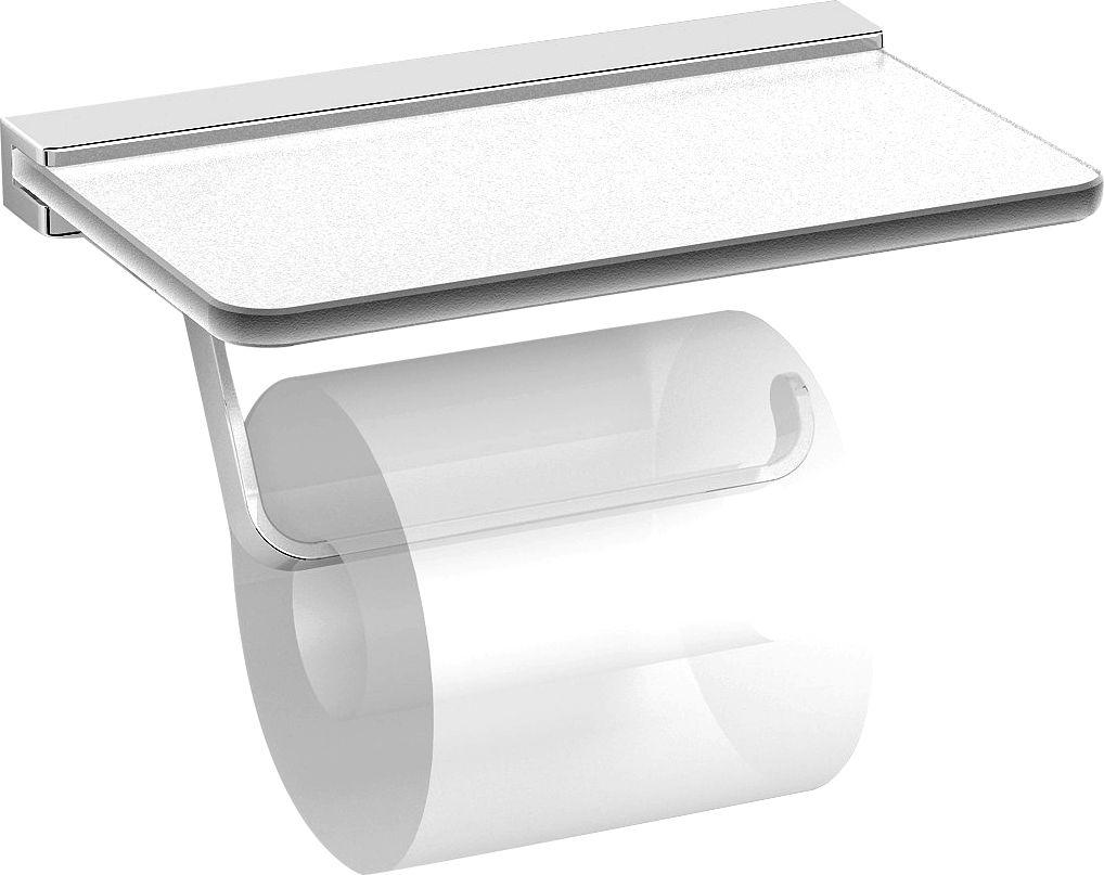 Best perfect portepapier avec tablette en verre day by day for Ustensile de wc