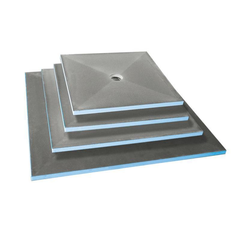 Receveur Fundo Primo carré, écoulement centré 900x900x40 mm Réf. 07-37-35/170