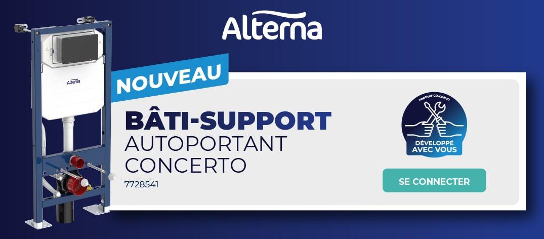 Découvrez le nouveau bati-support Alterna