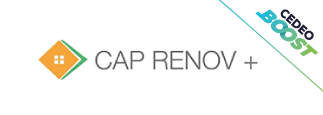 Logo CAP RÉNOV +