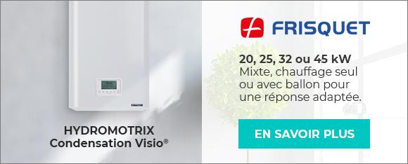 FRISQUET - Hydromotrix Condensation Visio