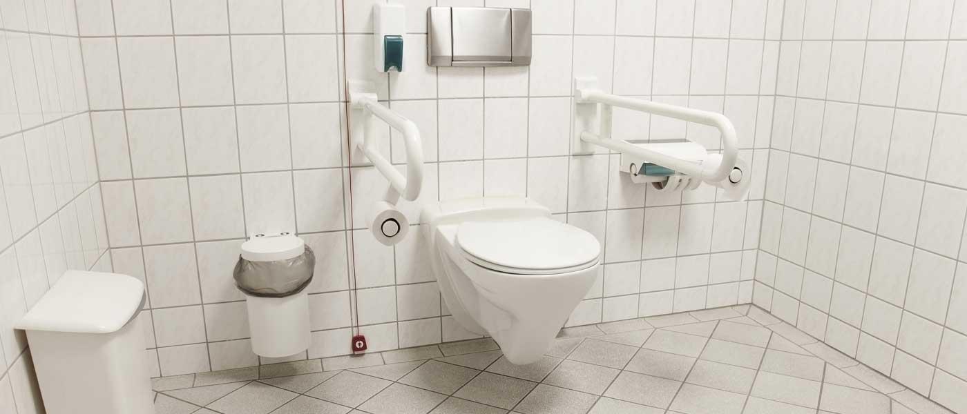 Accessibilité PMR : Normes pour la salle de bain et les WC  Cedeo