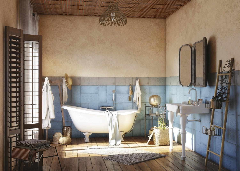 20 idées pour carreler en beauté et à petit prix la salle de bain