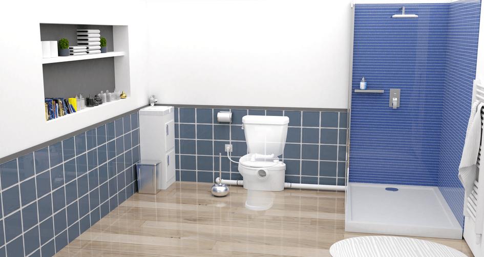Comment installer des WC dans un petit espace ?