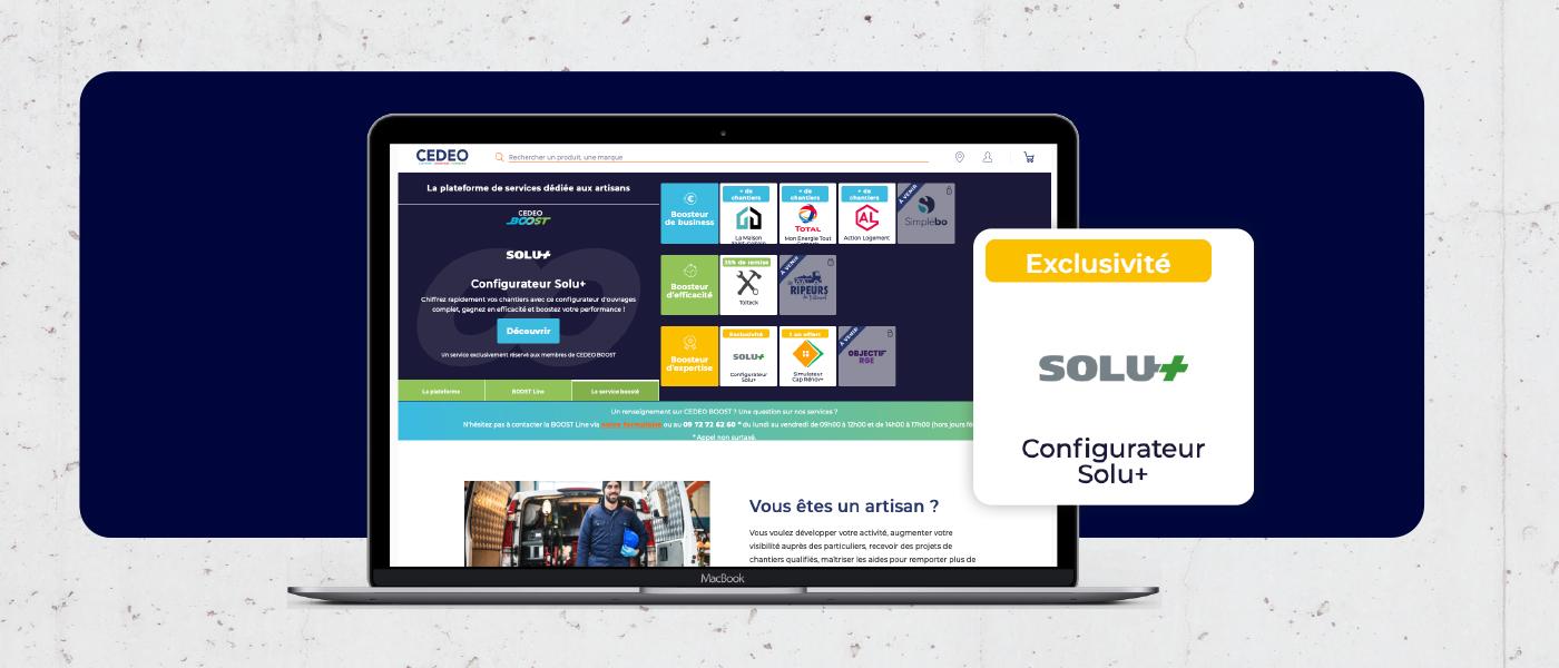 : CEDEO Boost, nouvelle plateforme de services digitale
