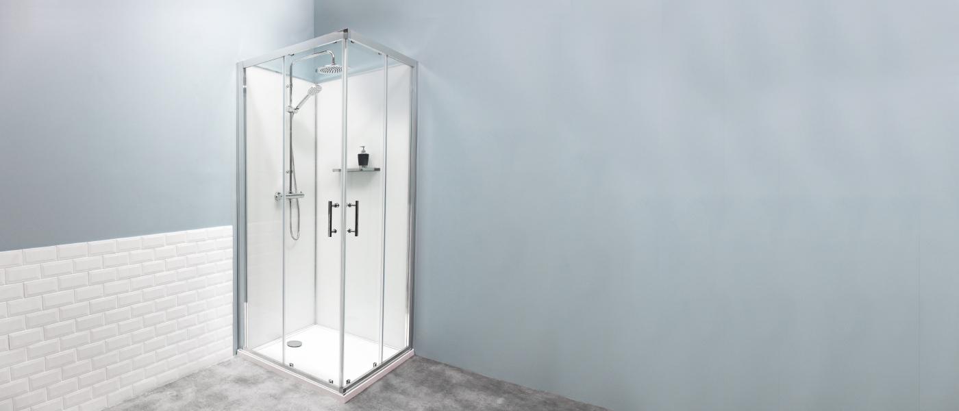 La cabine de douche Concerto 2 Alterna, par Cedeo.