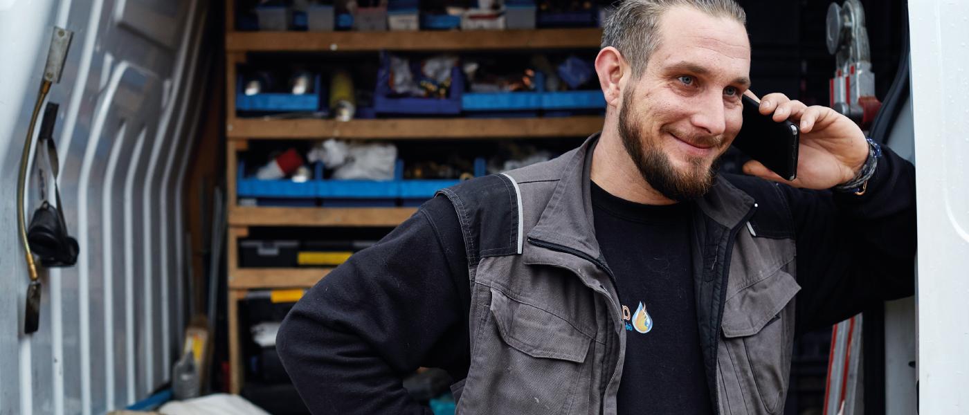 Jonathan Shell a choisi de devenir maître-artisan pour atteindre l'excellence.