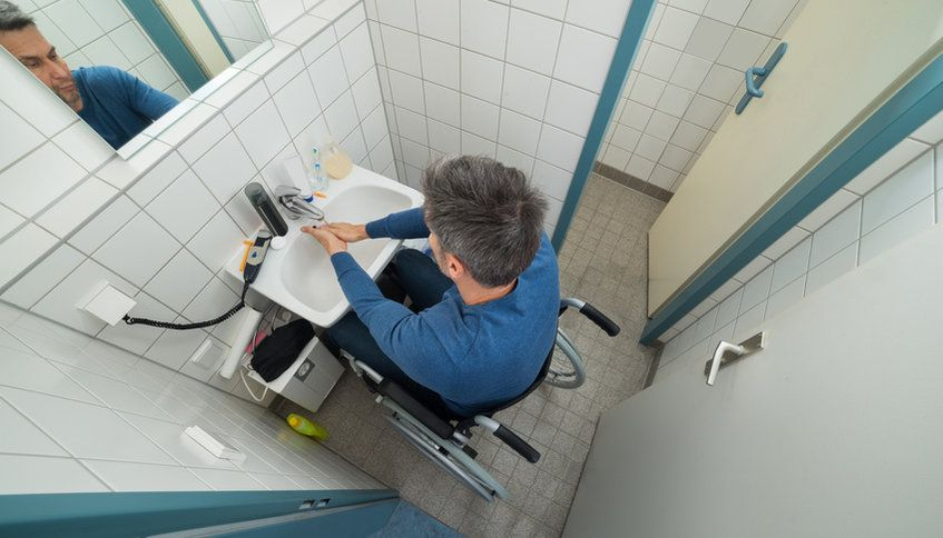Sanitaires accessibles
