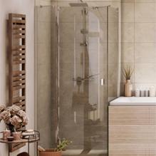 Cabine de douche pour maison de campagne