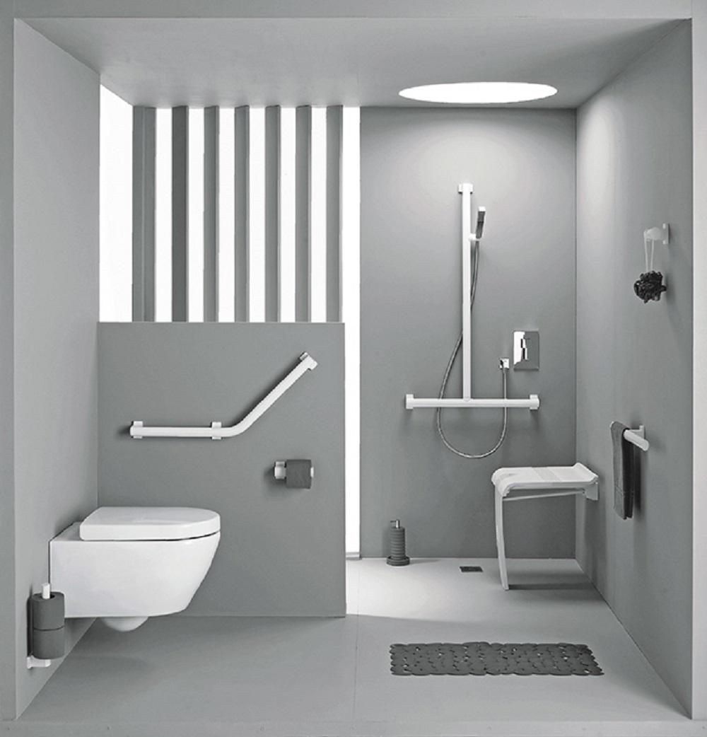 Aménager une salle de bain PMR  Cedeo
