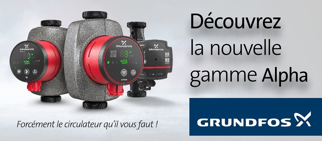 Circulateurs Grundfos Alpha