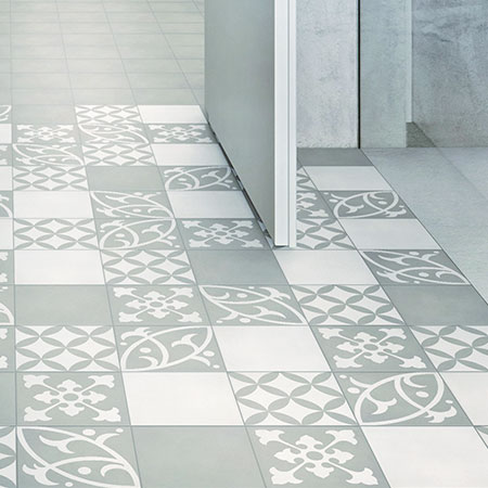 STYLE CARREAUX CIMENT